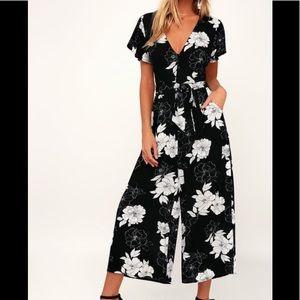 Pants - Lulu's Floral print jumpsuit